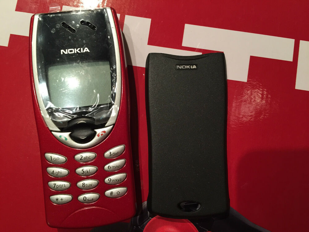 NOKIA 8210 UNLOCKED ORIGINAL NEW RED FASCIA 6417182117718 EBay
