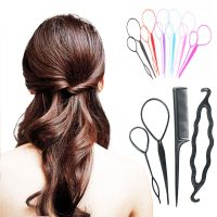 topsy tail hair braid 4pcs plastic magic topsy tail hair ...