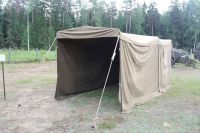 MILITARY SURPLUS TENT COMMAND POST Army Garage connecting ...