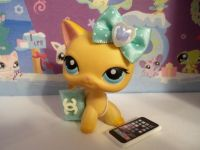 Littlest Pet Shop clothes LPS 3PC ACCESSORIES CAT/DOG NOT ...