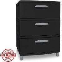 3 Drawer File Cabinets Storage Cabinet Office Organizer ...