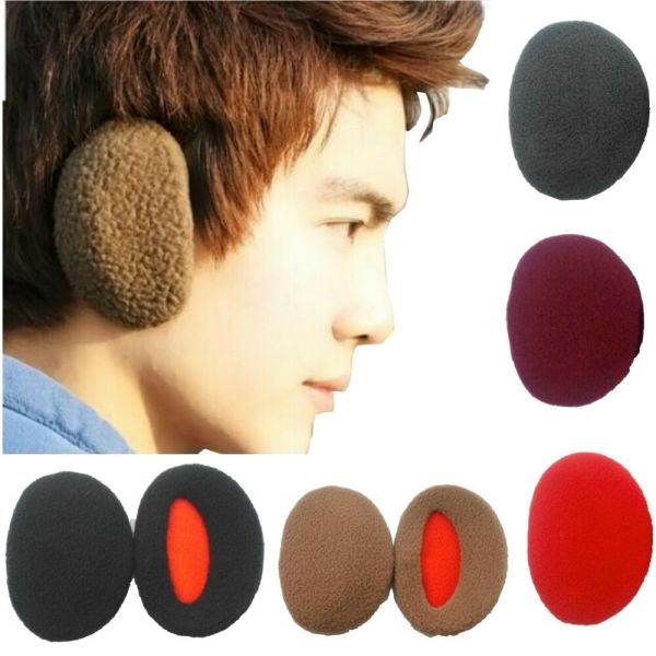 Earmuffs Bandless Fleece Ear Warmers Men Women Earcap