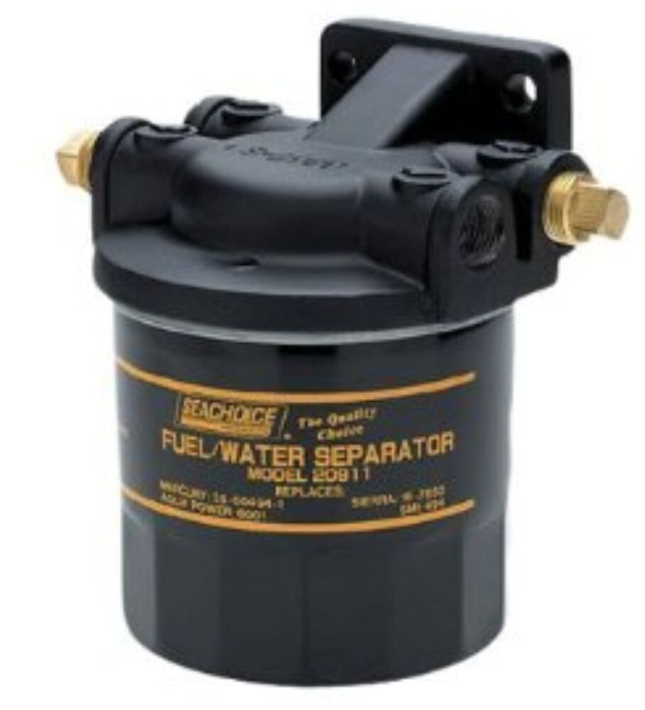 medium resolution of details about seachoice universal marine boat water seperating fuel filter kit outboard boats