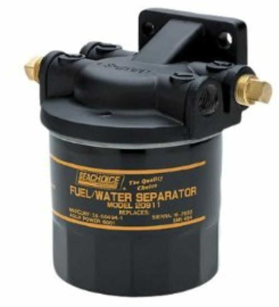 hight resolution of details about seachoice universal marine boat water seperating fuel filter kit outboard boats