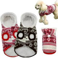 Winter Warm Dog Coats Chihuahua Clothes Pet Puppy Costumes ...