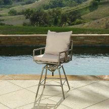 Outdoor Patio Furniture Pipes Design Adjustable Height