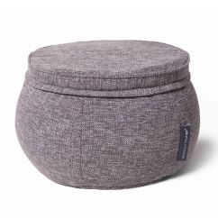 Memory Foam Butterfly Chair Posture Corrector For Office Indoor Ottoman - Sofa Complement Grey Bean Bag +   Ebay