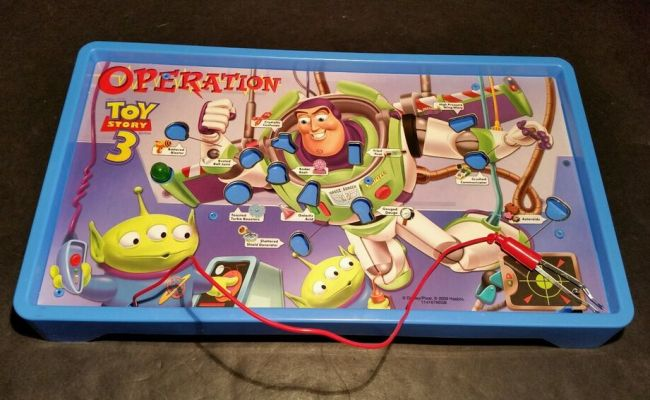 Hasbro Toy Story 3 Operation Replacement Parts Electronic