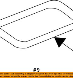 details about ford oem engine intake manifold gasket aa5z9439a [ 1000 x 884 Pixel ]