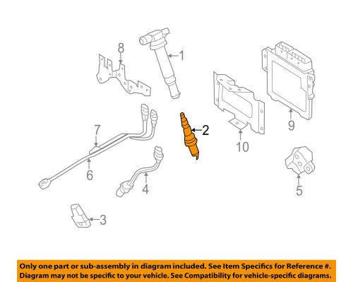 small resolution of details about hyundai oem 09 12 genesis 4 6l v8 ignition spark plug 1885011050