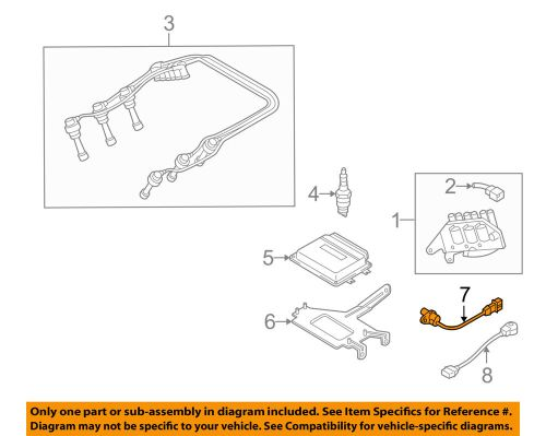small resolution of details about hyundai oem 99 05 sonata engine crankshaft crank position sensor cps 3918037150
