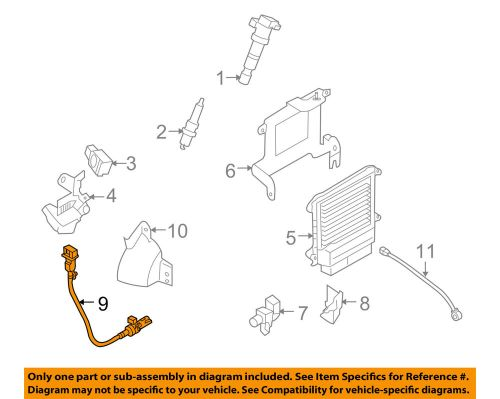 small resolution of details about hyundai oem 06 15 sonata engine crankshaft crank position sensor cps 3918025300