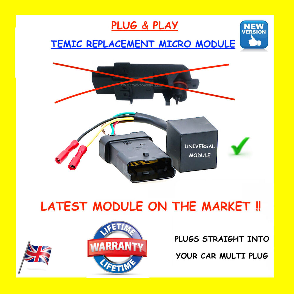 medium resolution of renault megane scenic electric window module motor regulator repair