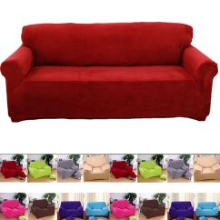 Cotton Recliner Chair Covers Stool For Sale Super Fit Stretch Couch Slip Cover 1 2 3 4 Seater Sofa Slipcover Protector | Ebay