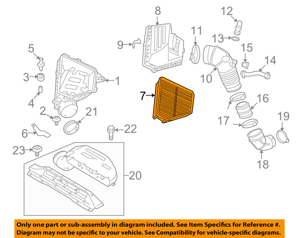 medium resolution of details about hyundai oem 10 12 genesis coupe engine air filter element 281132m000