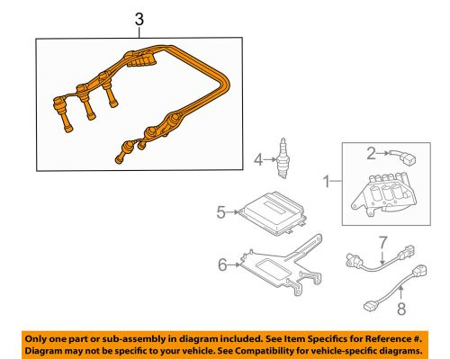 small resolution of details about hyundai oem 05 07 tucson 2 7l v6 ignition spark plug wire set 2750137c10