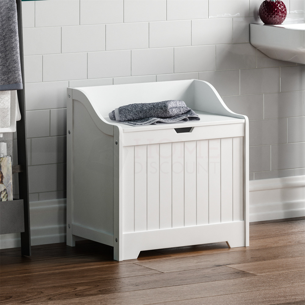 Priano Bathroom Laundry Cabinet Storage Bin Chest Basket
