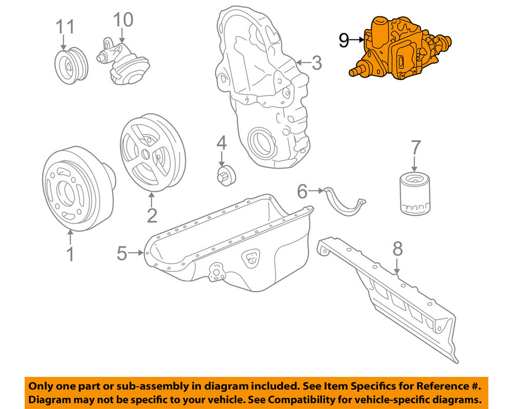 hight resolution of details about gm oem diesel fuel injection pump 19209059
