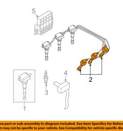 details about hyundai oem 03 06 santa fe ignition spark plug wire or set see image 2750139a70 [ 1000 x 798 Pixel ]