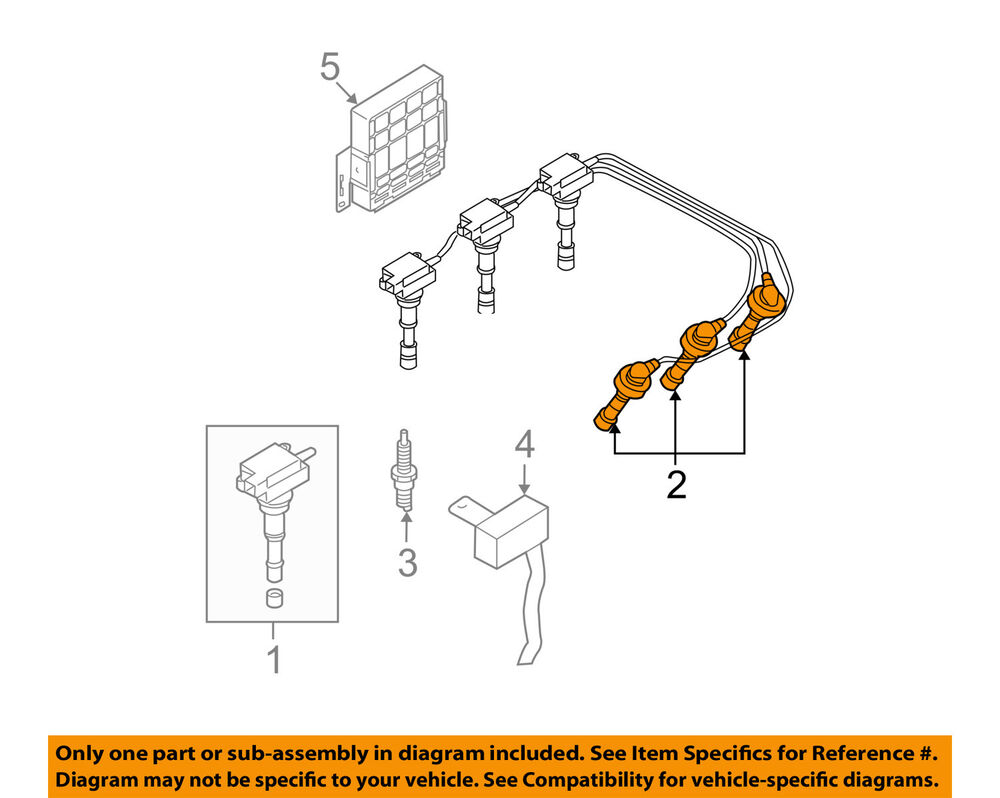 medium resolution of details about hyundai oem 03 06 santa fe ignition spark plug wire or set see image 2750139a70