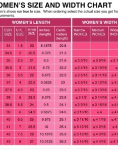 Details about womens shoe size conversion chart us uk eu  japanese printed and mailed also rh ebay