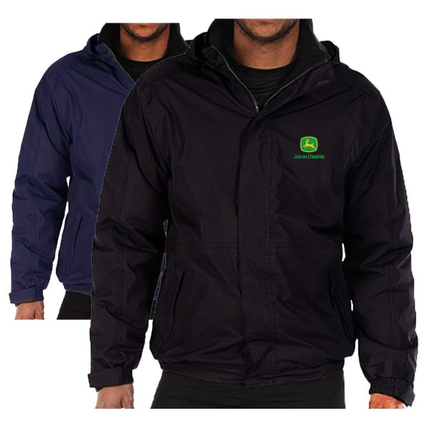 John Deere Fleece Lined Waterproof Jacket Regatta With