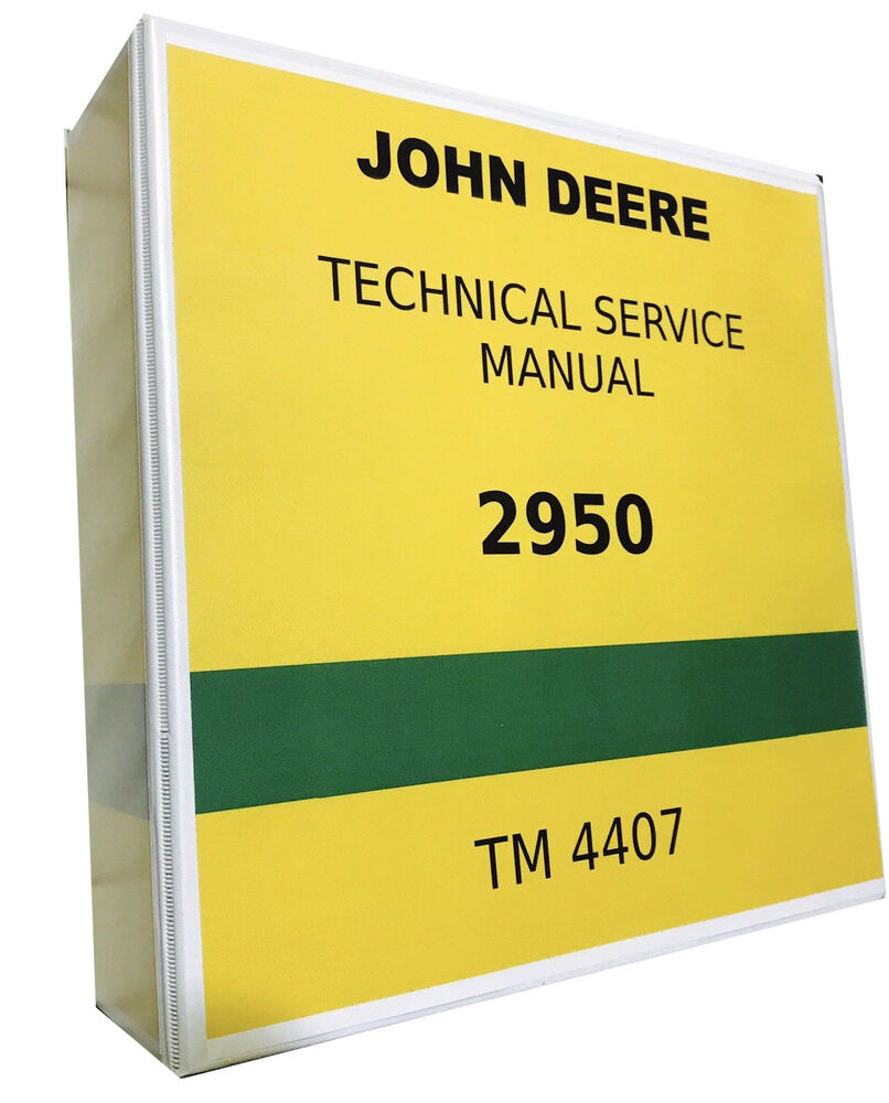 hight resolution of details about 2950 john deere technical service shop repair manual 844 pages