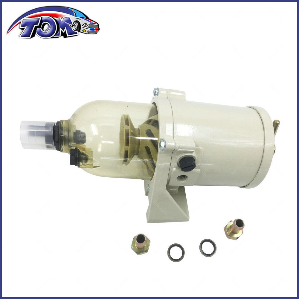 hight resolution of details about brand new 500fg fh diesel marine boat fuel filter water separator