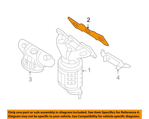 small resolution of details about hyundai oem 07 18 santa fe exhaust manifold gasket 285213c712
