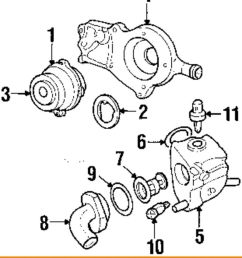 details about ford oem 2003 escort 2 0l l4 engine coolant thermostat housing xs7z8592ad [ 839 x 1000 Pixel ]