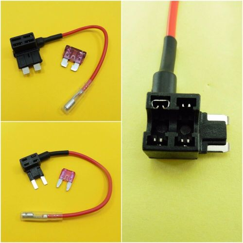 small resolution of details about piggy back add a circuit fuse blade holder 12v fuse tap car boat van motor amp