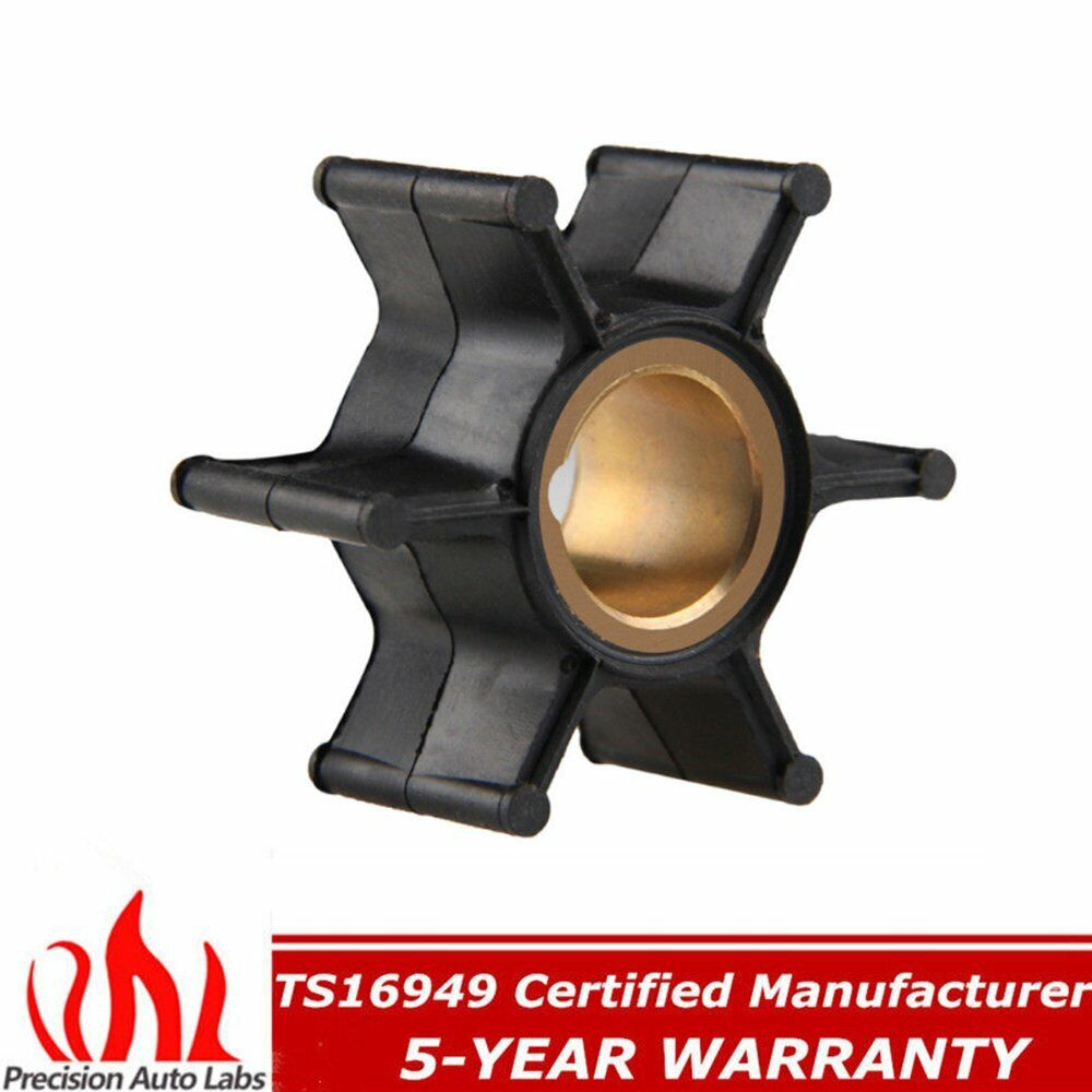 medium resolution of details about for brp johnson evinrude omc 9 9 15 hp water pump impeller 386084 18 3050 500355