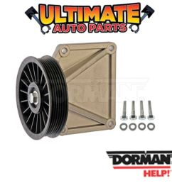 details about ac air conditioning bypass pulley 2 5l engine for 96 02 dodge dakota [ 1000 x 1000 Pixel ]