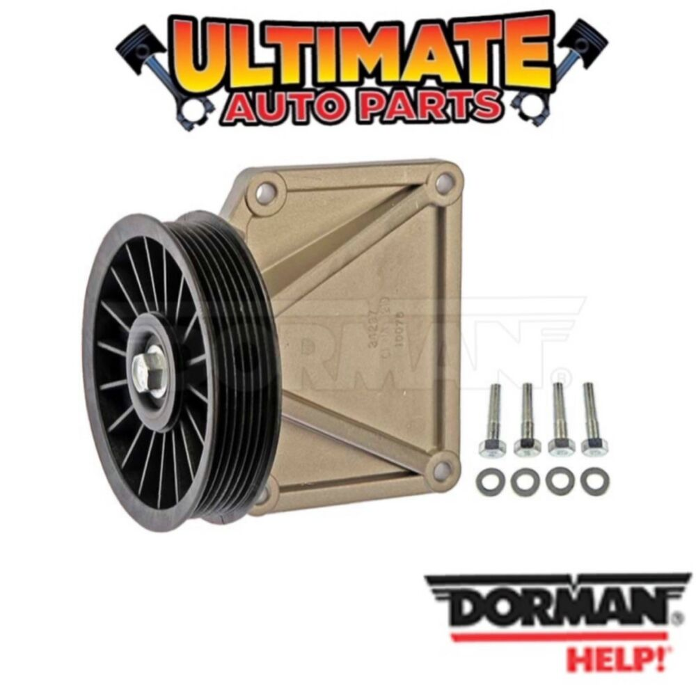 medium resolution of details about ac air conditioning bypass pulley 2 5l engine for 96 02 dodge dakota