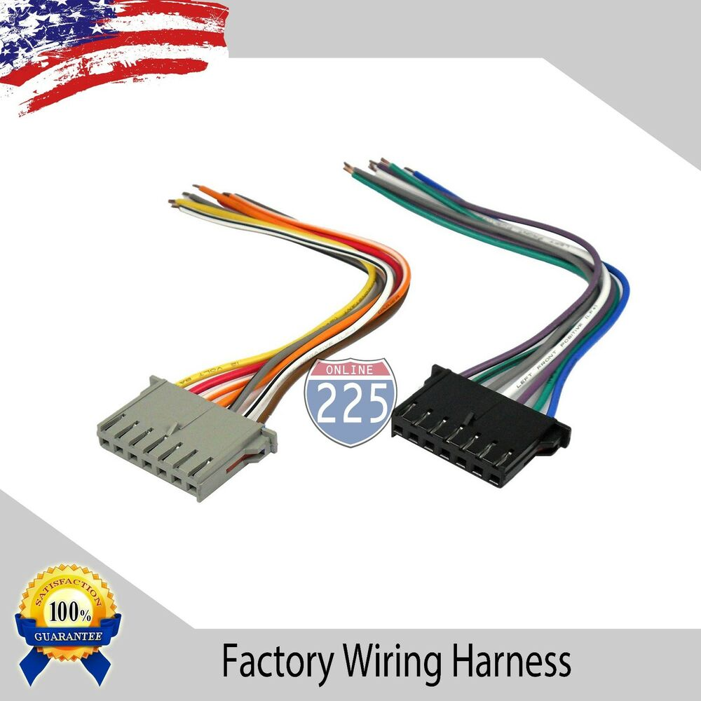 hight resolution of details about car stereo wiring harness factory radio male plug chrysler dodge jeep 1984 2002
