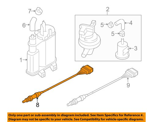 small resolution of details about vw volkswagen oem 07 15 eos oxygen o2 sensor 06j906262aa