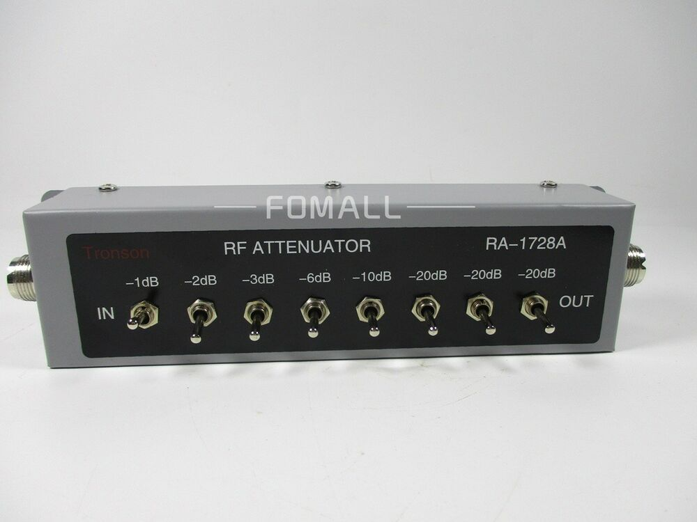 Attenuate Variable Radio Frequency