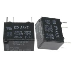 details about 5v relay g5v 1 5vdc signal relay 6 pins for omron relay 6pin 5v [ 1000 x 1000 Pixel ]
