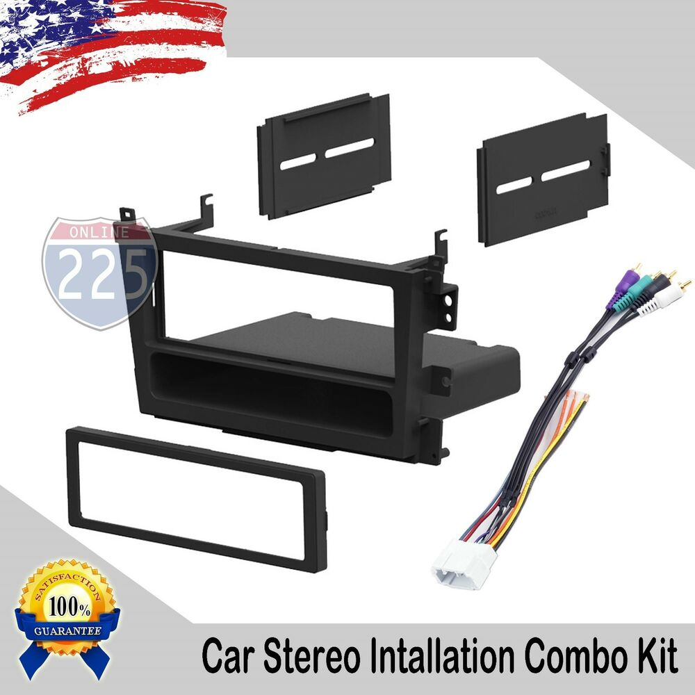 hight resolution of details about car stereo radio dash installation kit harness acura tl cl 1999 2003