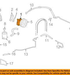 details about honda oem 03 07 accord power steering pump 06561rca505rm [ 1000 x 798 Pixel ]