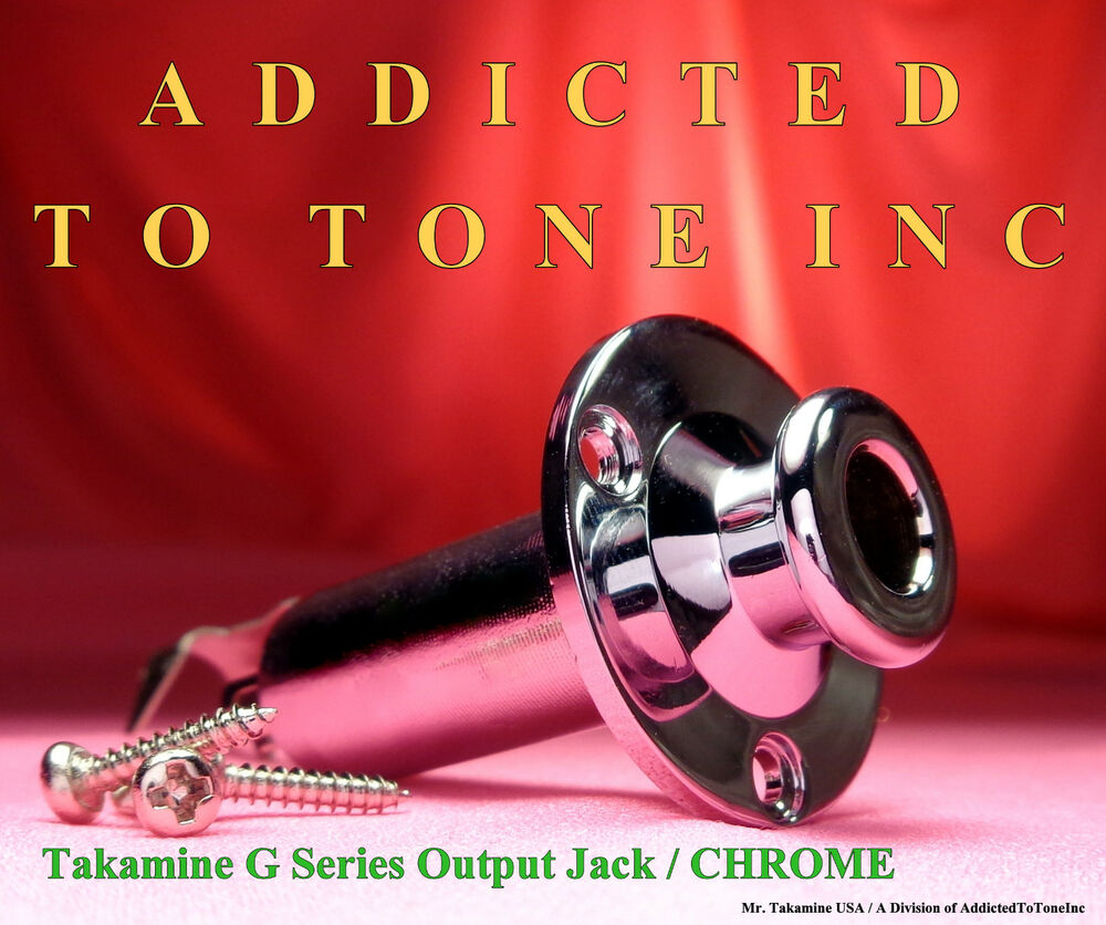 hight resolution of details about takamine g series output jack chrome end pin jack with wiring code diagram