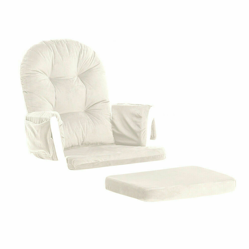 Baby Nursery Chairs 5pcs Cushion Set Of Glider Ottoman Removable Nursery Baby Mother Rocking Rocker 699943003720 Ebay