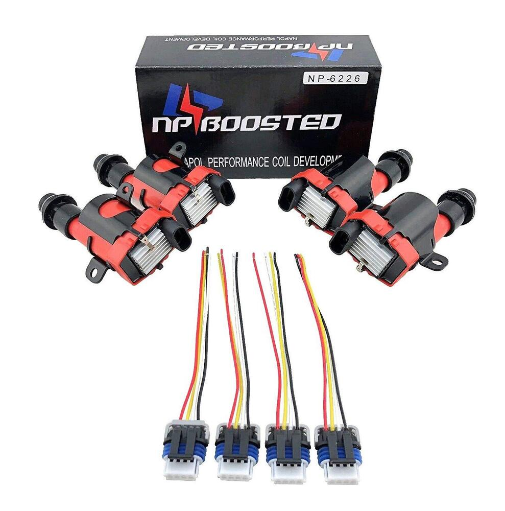 hight resolution of details about ls1 lq9 d585 coils universal conversion kit for 4 cyl engines w pigtail harness