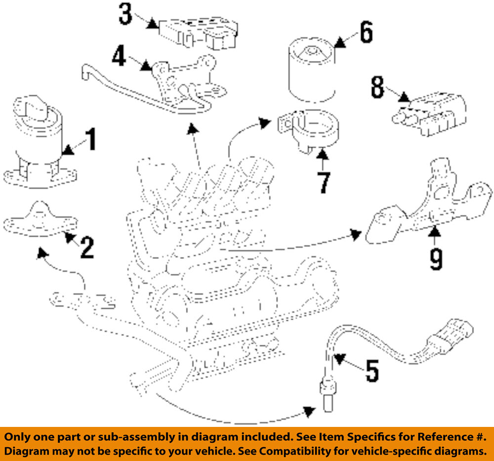 medium resolution of details about gm oem emission system m a p sensor bracket 12584306