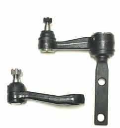 details about 2 new pc steering kit for expedition f 150 f 250 navigator idler pitman arm [ 922 x 950 Pixel ]