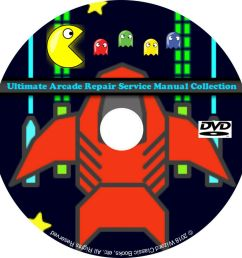 details about ultimate arcade repair service manual collection dvd schematics dip pdf cd [ 1000 x 1000 Pixel ]