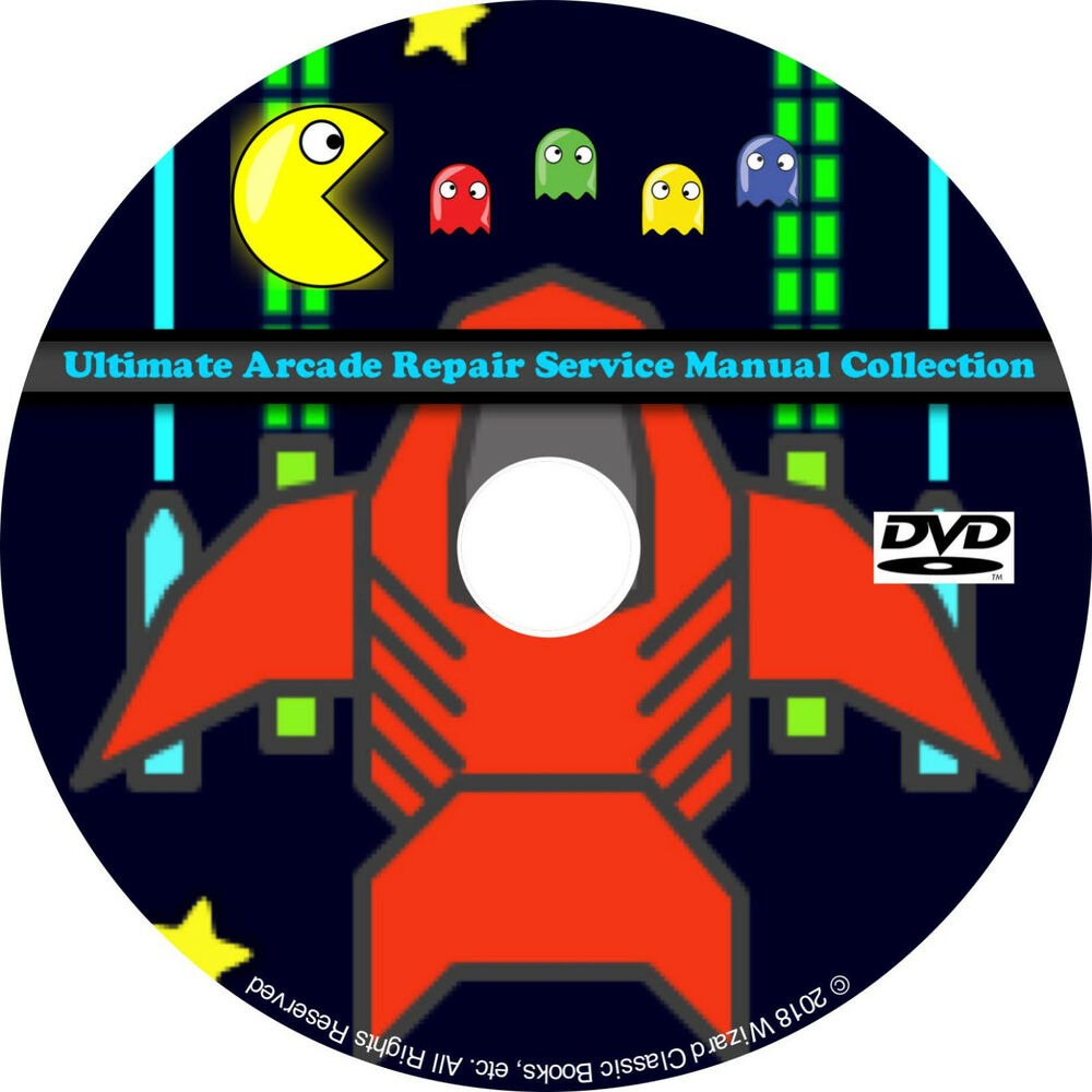 medium resolution of details about ultimate arcade repair service manual collection dvd schematics dip pdf cd