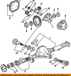 details about ford oem rear differential pinion seal br3z4676a [ 877 x 1000 Pixel ]