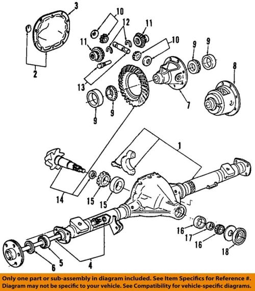 small resolution of details about ford oem rear differential pinion seal br3z4676a
