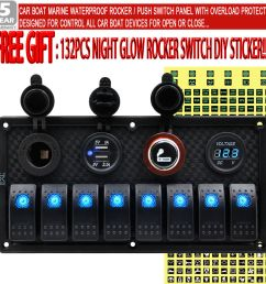 details about 8 gang car marine boat blue led switch control panel inline fuse box ahy post [ 1000 x 1000 Pixel ]